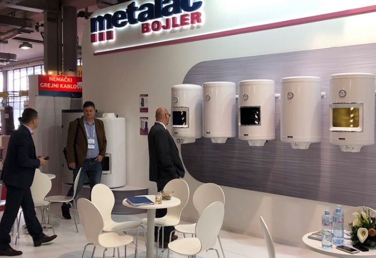 Metalac Bojler at SEEBBE 2019 Belgrade Building Industry Show (for the Fifth Time)